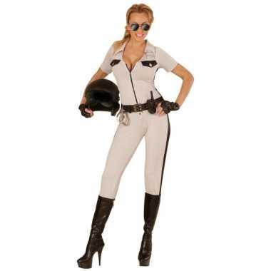Politie pak usa beige voor damescarnavalskleding