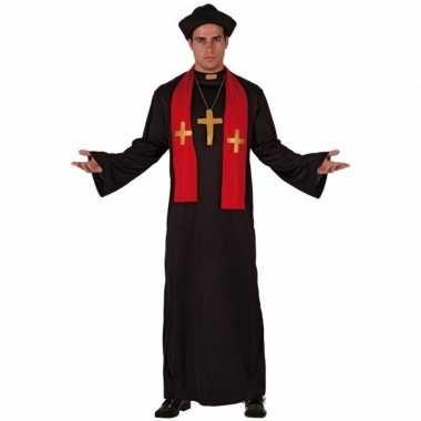 Priester toga voor volwassenencarnavalskleding