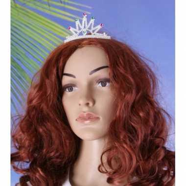 Prinses tiara met klemcarnavalskleding