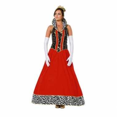 Prinsessen outfit voor damescarnavalskleding