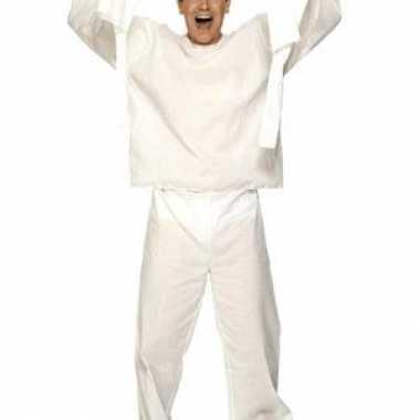 Psychiatrische patient kostuumcarnavalskleding