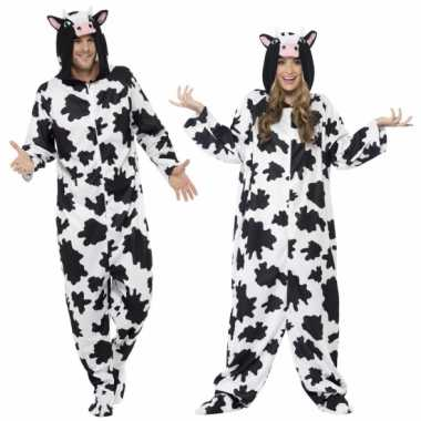 Pyamapak koe voor dames en heren carnavalskleding