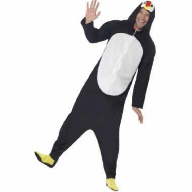 Pyamapak pinguin voor dames en herencarnavalskleding