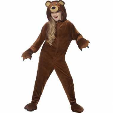 Pyjamapak beer voor jongens en meiden carnavalskleding