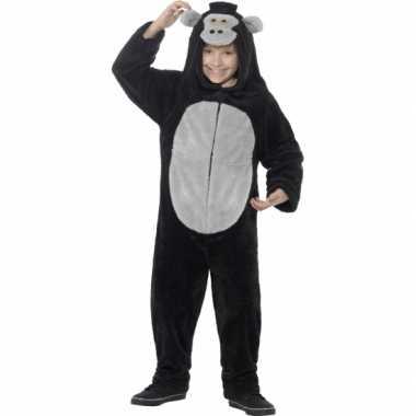 Pyjamapak gorilla voor jongens en meiden carnavalskleding