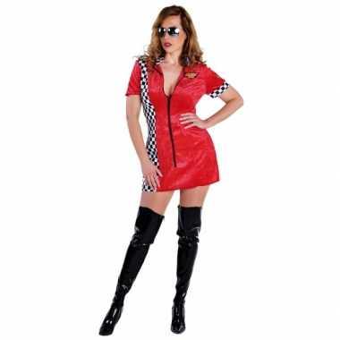 Race kostuum voor damescarnavalskleding