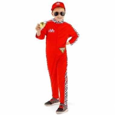 Race outfit voor kinderencarnavalskleding
