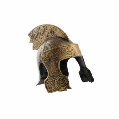 Ridder helm brons voor volwassenencarnavalskleding