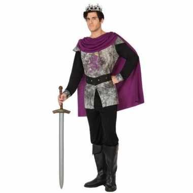 Ridder/koning verkleedpak voor herencarnavalskleding