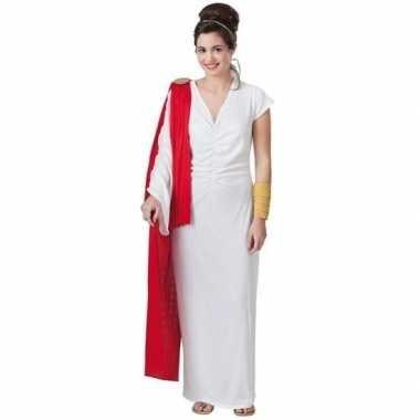 Romeins verkleed jurk voor damescarnavalskleding