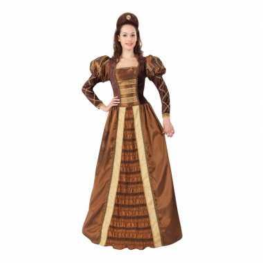 Romeo en juliet prinses jonkvrouw kostuum voor dames carnavalskleding