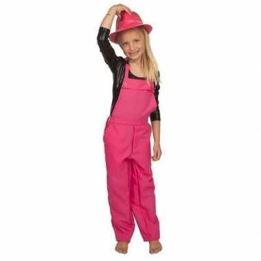 Roze verkleed overall voor kinderencarnavalskleding