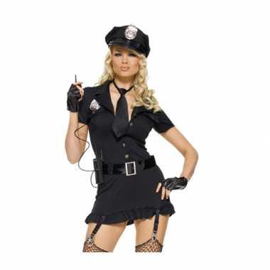Sexy agent outfit voor damescarnavalskleding