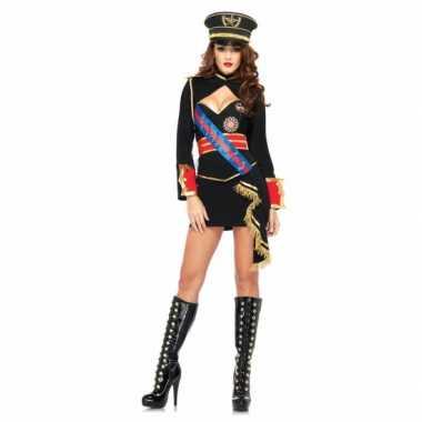 Sexy dictator kostuum voor damescarnavalskleding