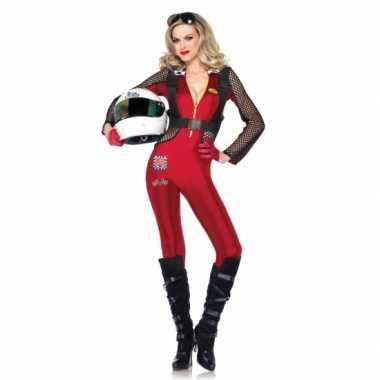 Sexy formule 1 kostuum voor damescarnavalskleding