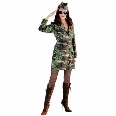 Sexy leger jurkje voor damescarnavalskleding