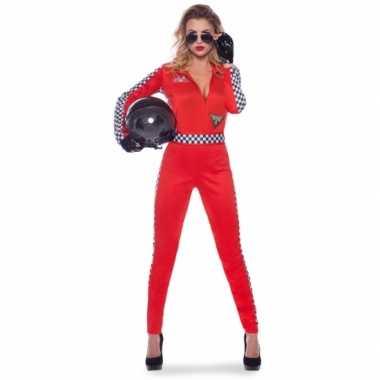Sexy racing outfit voor damescarnavalskleding