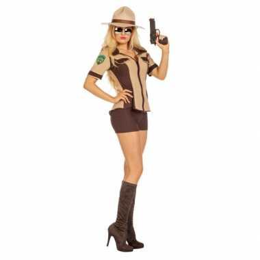 Sexy sheriff verkleedoutfit damescarnavalskleding