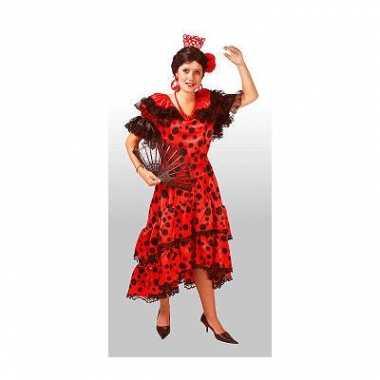 Spaanse dames jurkencarnavalskleding