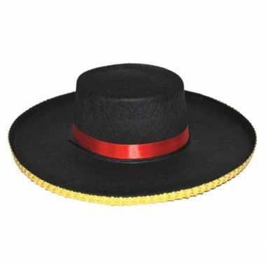 Spaanse verkleed hoeden antonio voor herencarnavalskleding