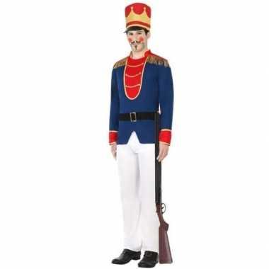 Speelgoed soldaat verkleed kostuum voor heren carnavalskleding