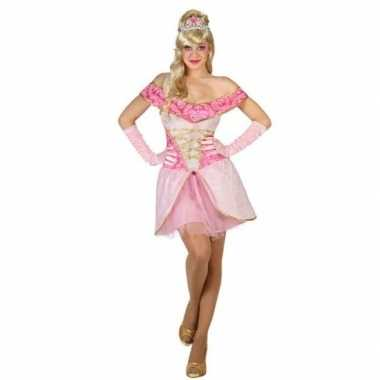 Sprookjes prinses verkleed jurkje voor damescarnavalskleding