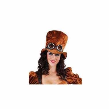 Steampunk hoge hoeden carnavalskleding