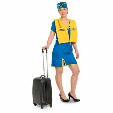 Stewardess kostuum blowjob voor damescarnavalskleding
