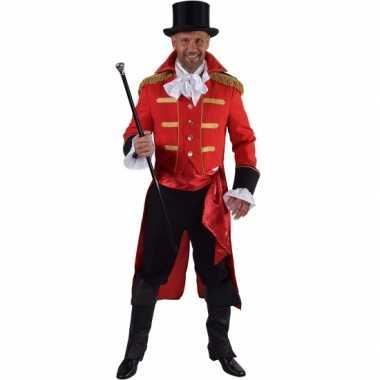 Theater rood markgraaf kostuumcarnavalskleding