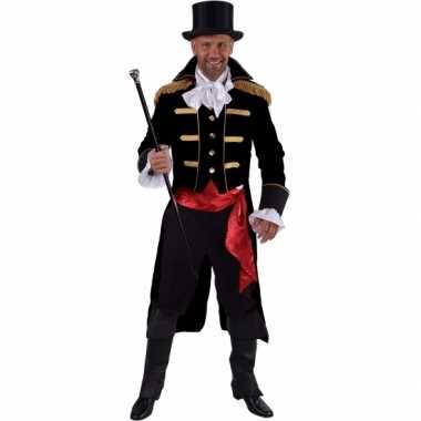 Theater zwart markgraaf kostuumcarnavalskleding