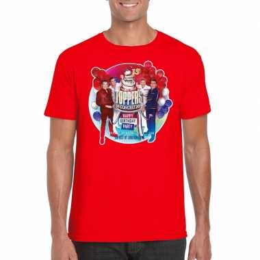 Toppers - rood toppers in concert 2019 officieel t-shirt herencarnava
