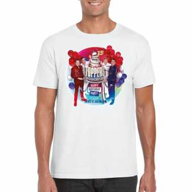 Toppers - wit toppers in concert 2019 officieel t-shirt herencarnaval