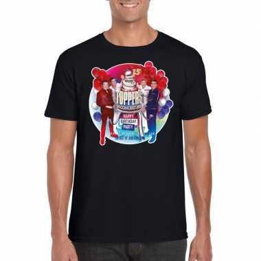 Toppers - zwart toppers in concert 2019 officieel t-shirt herencarnav