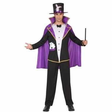 Tovenaar/goochelaar verkleedkleding voor volwassenencarnavalskleding