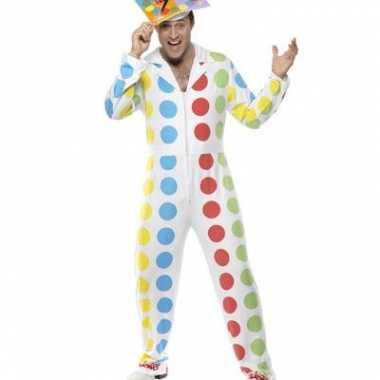 Twister jumpsuit voor mannencarnavalskleding