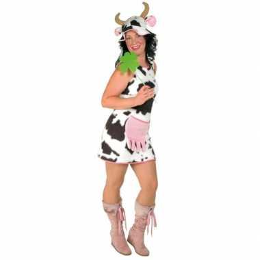 Verkleedjurk koe voor damescarnavalskleding