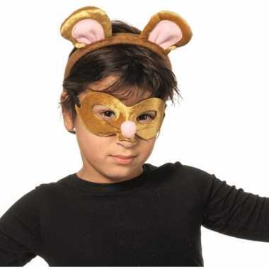 Verkleedpartij setje muis voor kinderen carnavalskleding