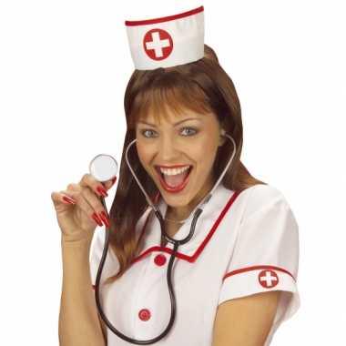 Verpleegsters mutsje/kapjescarnavalskleding