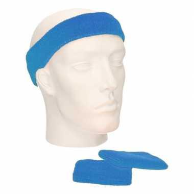 Voordeelset hoofdband en polsbandjes aquacarnavalskleding