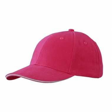 Voordelige hard roze baseball capcarnavalskleding