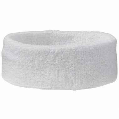 Witte hoofdbandjescarnavalskleding