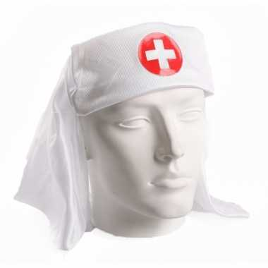 Witte zusters hoofdkapjescarnavalskleding