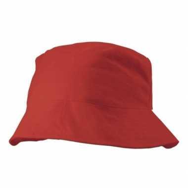 Zonnehoedje roodcarnavalskleding