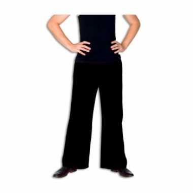 Zwarte broek voor herencarnavalskleding