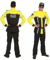 Carnavals politiepak voor heren carnavalskleding