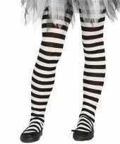 Carnavalskleding halloween wit zwarte heksen panties maillots verkleedaccessoire voor meisjes carnav