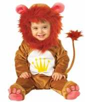 Dieren carnavalskleding leeuw baby