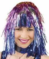 Funpruik gekleurde folie carnavalskleding
