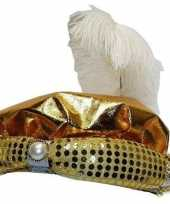 Hoedje voor sultan volwassenen carnavalskleding