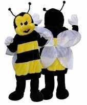 Pluche bijen pak deluxe carnavalskleding